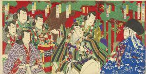 国周/歌舞伎十八番ノ内 勧進帳のサムネール