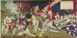 周延/西郷城山戦死図のサムネール