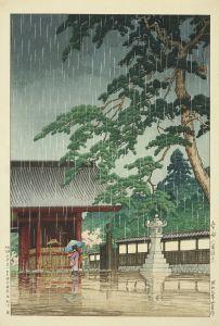 川瀬巴水/春雨 (護国寺)のサムネール