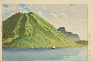 川瀬巴水/榛名湖のサムネール