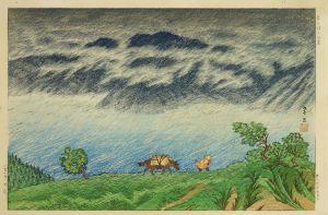 伊藤孝之/芦之湖之雨景のサムネール