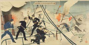 吟光/樺山軍令部長西京丸をもって 敵艦に当るのサムネール