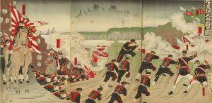 国利/九連城大合戦之図のサムネール