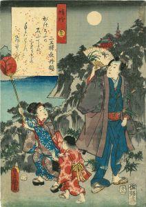 豊国三代/源氏物語 五十二 蜻蛉のサムネール