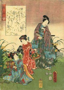 豊国三代/源氏物語 三十八 鈴虫のサムネール