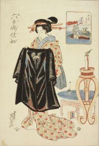英泉/六多満佳和 井出ノ玉川 浮人形のサムネール