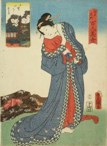 豊国三代/江戸名所百人美女 上野山下のサムネール