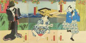 芳幾/「隅田川浮世の鏡」のサムネール