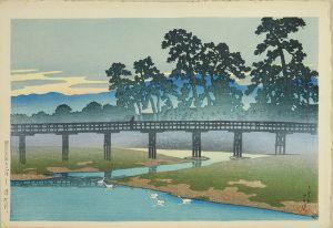 川瀬巴水/旅みやげ第一集 金沢 浅野川のサムネール