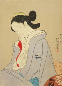 鏑木清方/「伽羅」14-5のサムネール