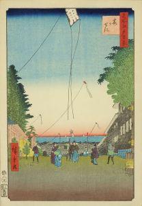 広重/名所江戸百景 霞がせきのサムネール