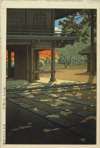 川瀬巴水/野火止 平林寺のサムネール