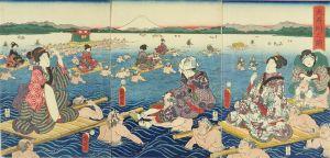 国明/大井川之図のサムネール