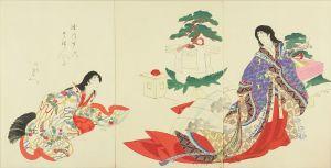周延/徳川時代貴婦人之図のサムネール