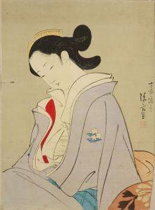 鏑木清方/「伽羅」のサムネール