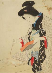 鏑木清方/「白魚」のサムネール