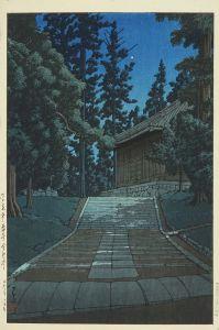 川瀬巴水/平泉中尊寺金色堂のサムネール