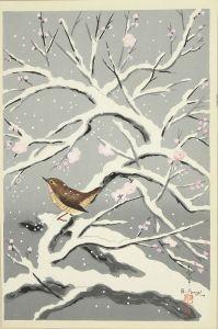 大野麦風/梅に鶯のサムネール