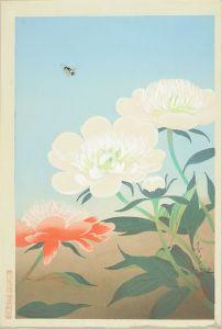 大野麦風/芍薬に虻のサムネール