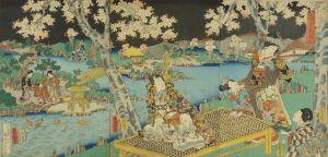 豊国三代/花宴紫面影のサムネール