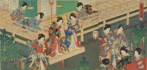 豊国三代/若君宮参之図のサムネール