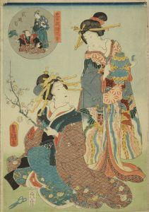 豊国三代/忠臣蔵絵兄弟 弐段目のサムネール