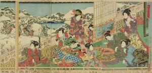 国輝/雪月花 其姿紫の雪のサムネール