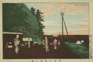 清親/東京名所 湯島元聖堂之景のサムネール