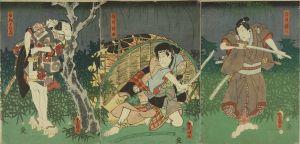 豊国三代/「鏡模様比翼花鳥」のサムネール