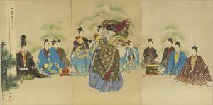 耕漁/能楽百番 翁式三双図のサムネール