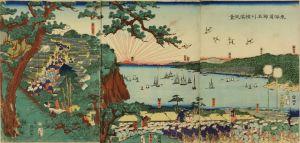 国綱/東海道神名川横浜風景のサムネール