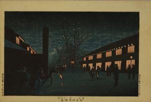 安治/新吉原夜桜景のサムネール