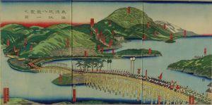 貞秀/東海道近江八景一覧之図のサムネール