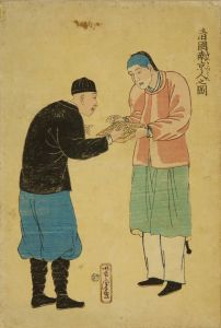 芳虎/清国南京人之図のサムネール