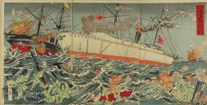 小国政/九月廿日号外 海洋島附近激戦のサムネール