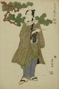 豊国/二世尾上松助 才三郎 「銀杏鶴曽我」のサムネール