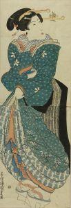 国貞/立美人図のサムネール