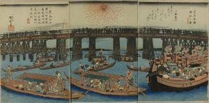 広重/東都両国遊船之図のサムネール
