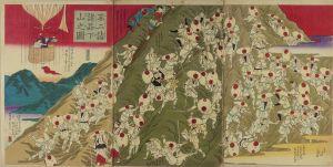 広重三代/不二詣諸品下山之図のサムネール