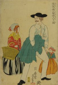 芳富/生写佛蘭西人之図のサムネール